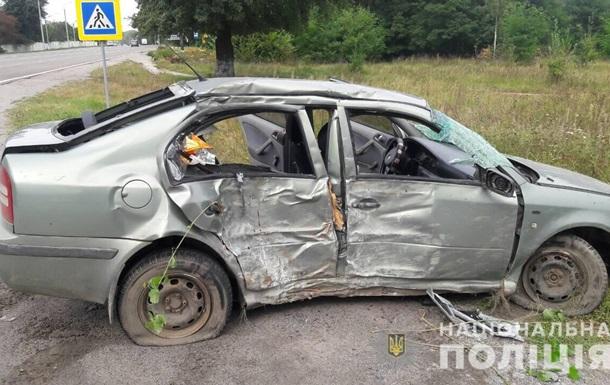 У ДТП під Вінницею одна людина загинула, двоє отримали поранення