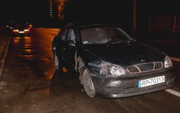 В Киеве случилось ДТП с участием полиции