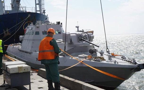 Бронекатера вышли на дежурство в Азовском море