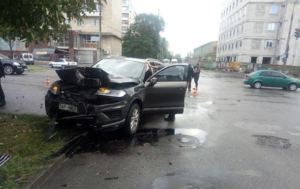 В Запорожье священник спровоцировал аварию - СМИ