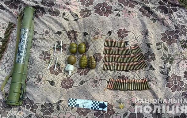 У Дніпропетровській області в купі сміття знайшли гранатомет
