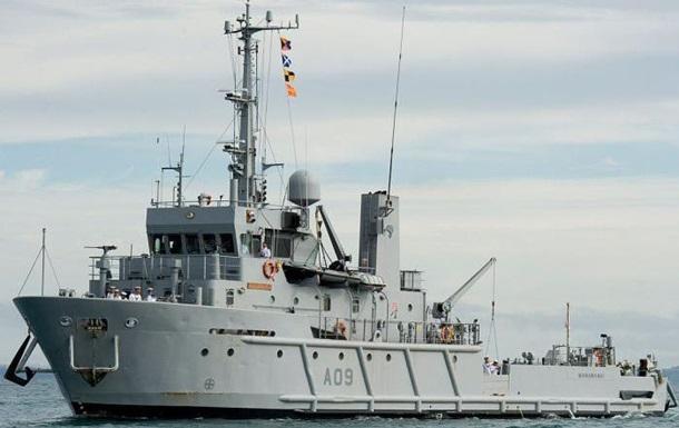 В Австралії сімейна пара купила військовий корабель