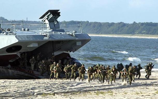 Россия готовится к полномасштабному вторжению в Украину с моря
