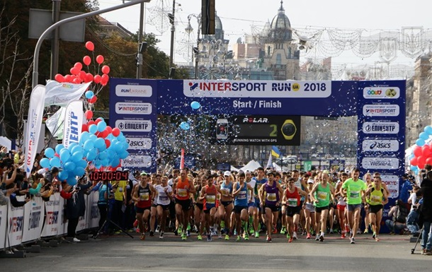 Sport Life підтримав бігові змагання INTERSPORT RUN UA