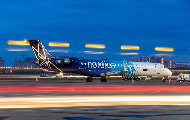 Іноземна авіакомпанія заявила про припинення польотів до Києва