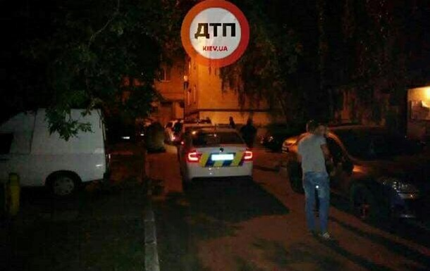 В Киеве водитель разбил пять авто, убегая от полиции