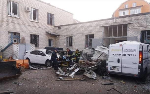В центре Кременчуга от взрыва погиб мужчина