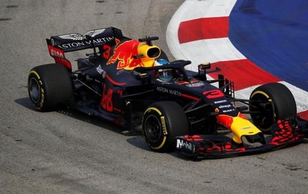 Ріккардо виграв першу практику Гран-прі Сінгапуру