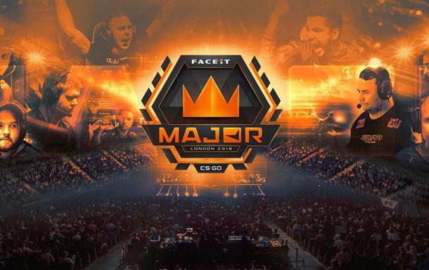 FACEIT Major 2018: розклад та результати турніру