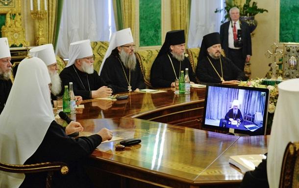 Глава УПЦ МП відмовився зустрічатися з екзархами