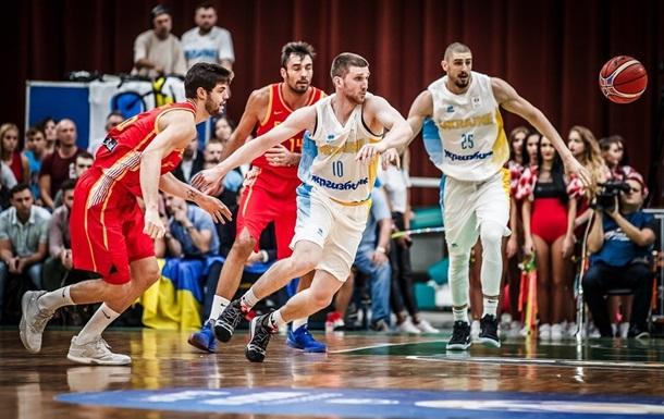 Баскетбол: Україна виграла важливий матч в Іспанії
