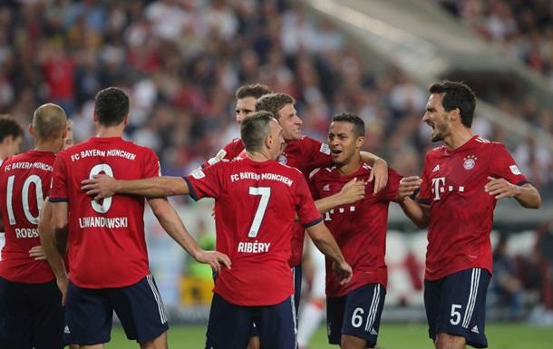 Бундеслига: Бавария против Байера, Боруссия М - Шальке