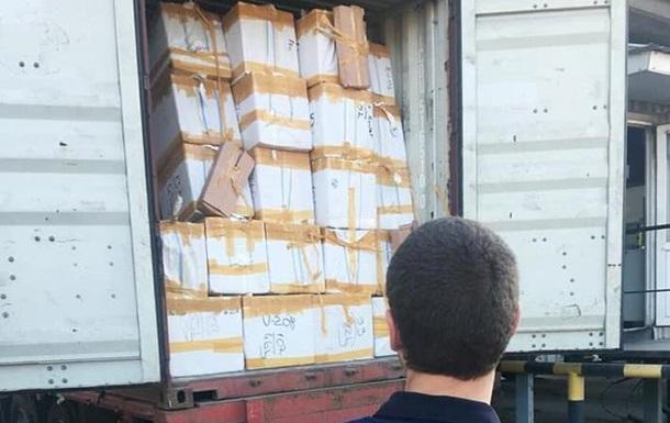 В Одесі затримали контрабандних парфумів на десять мільйонів