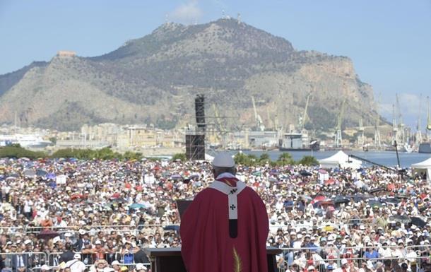 Папа Римський закликав мафіозі покаятися