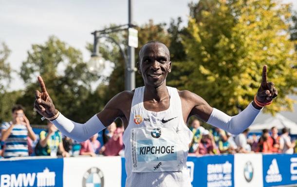 Кенієць Кіпчоге встановив світовий рекорд в марафоні
