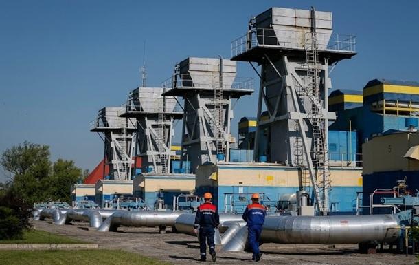 Украинские хранилища газа заполонили наполовину