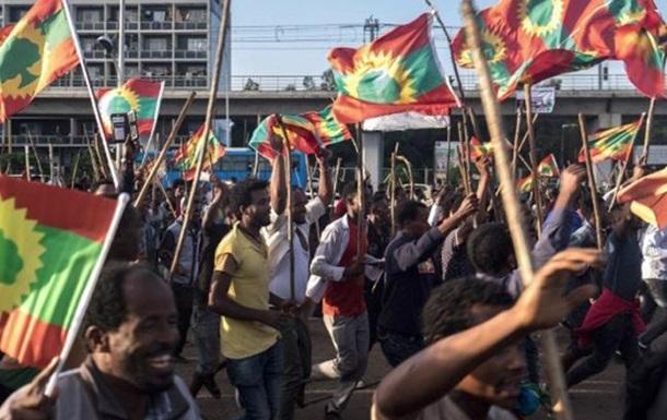 В Ефіопії під час заворушень загинули десятки людей