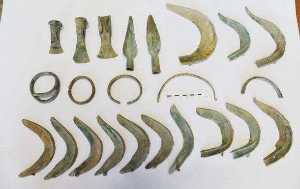У Чехії собака знайшов скарб бронзового століття