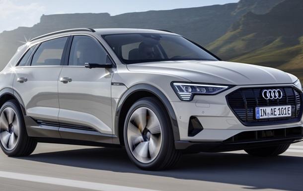 Німці розсекретили кросовер Audi e-tron