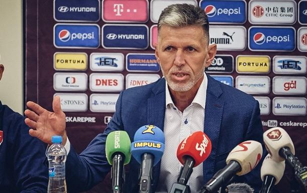 Збірна Чехії визначилася з тренером, який повезе гравців в Україну