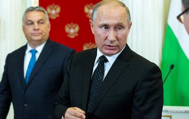 Орбан попросив Путіна продовжити Турецький потік