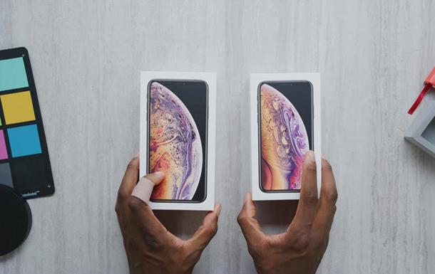 Золотые iPhone XS и XS Max распаковали на видео