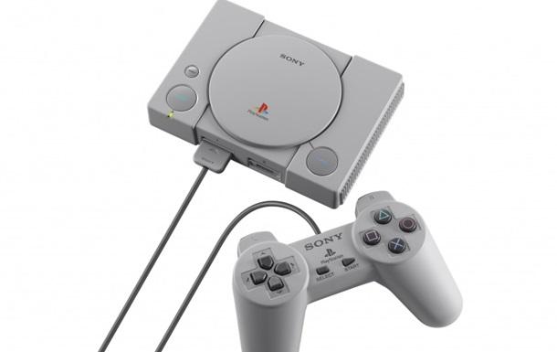Sony оголосила про перевидання першої PlayStation