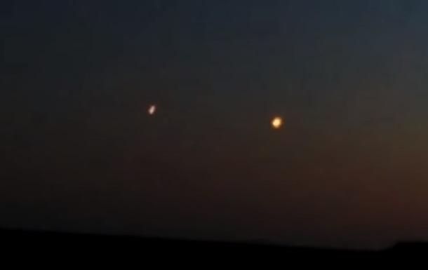 У небі над Одесою помітили  інопланетні  вогні