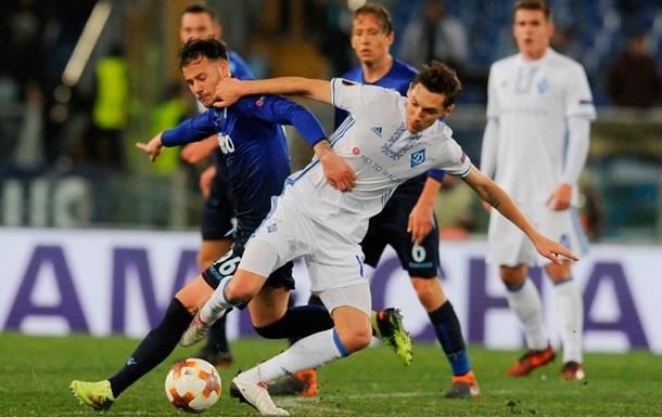 Динамо - Астана дивитися онлайн матч Ліги Європи