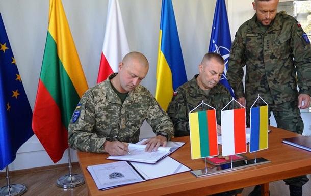 Український офіцер прийняв під командування ЛитПолУкрбриг