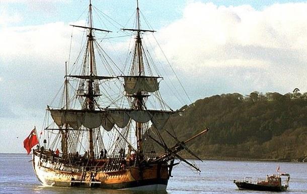 Знайдено місце затоплення корабля Джеймса Кука