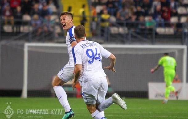 Динамо - Астана 2:2 відео голів та огляд матчу