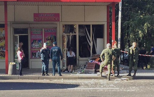 В Донецке на остановке прогремел взрыв, есть раненые