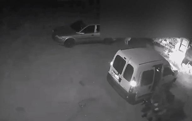 З явилося відео нападу на інкасаторів в Одесі