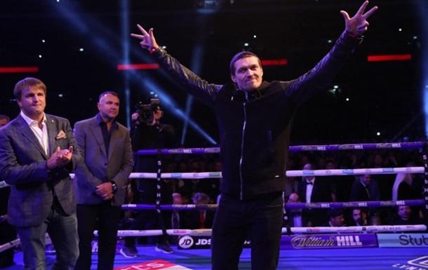 Усик про Джошуа: Я буду з ним боксувати