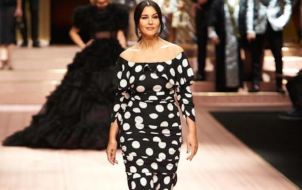 Моніка Белуччі відкрила показ Dolce&Gabbana