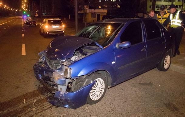 У Києві п яна водій врізалася в церкву