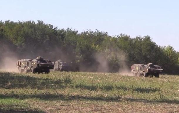 ЗСУ відпрацьовують на Донбасі розгортання ракетних військ