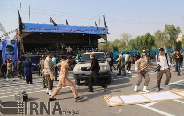 Теракт на параді в Ірані: затримані підозрювані
