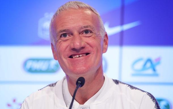Дешам визнаний найкращим тренером року за версією ФІФА