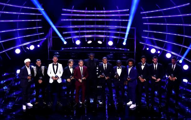 Оголошена збірна сезону за версією ФІФА