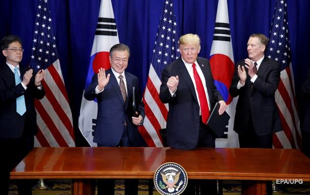США і Південна Корея підписали нову угоду про вільну торгівлю