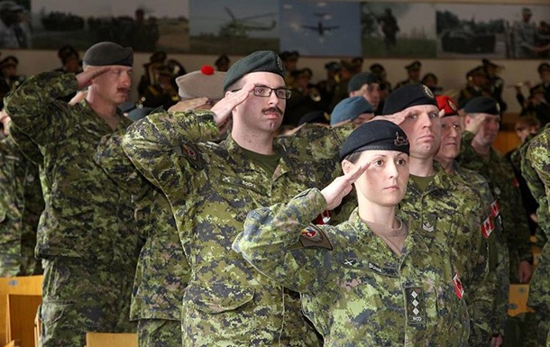 В Україні пройшла ротація канадських військових інструкторів