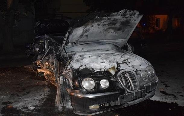 В Николаеве водитель Jaguar умер после полицейской погони