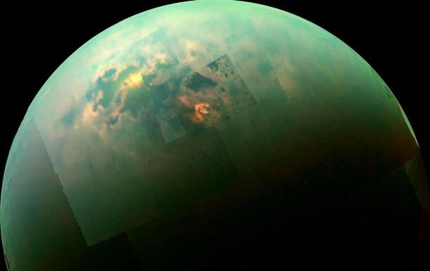 На Титане впервые зафиксировали пылевые бури