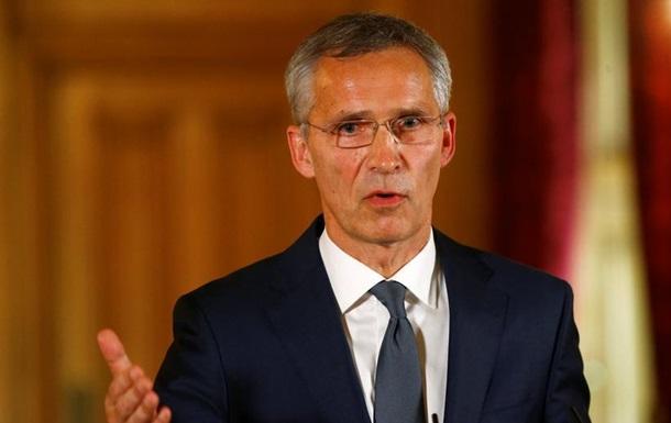 Столтенберг: НАТО не потребує дозволу РФ щодо вступу України