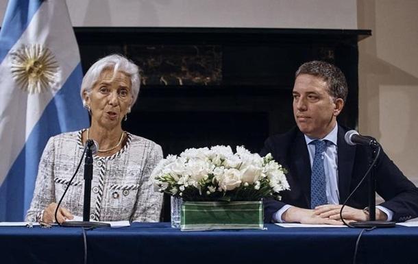 МВФ збільшує кредитну допомогу Аргентині до 57 мільярдів доларів США