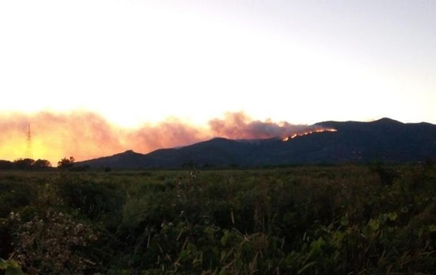 У горах Італії спалахнула ще одна пожежа