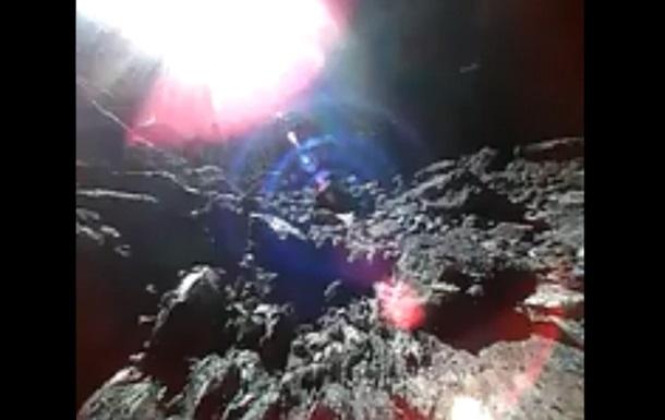 Японский зонд снял первое видео с астероида