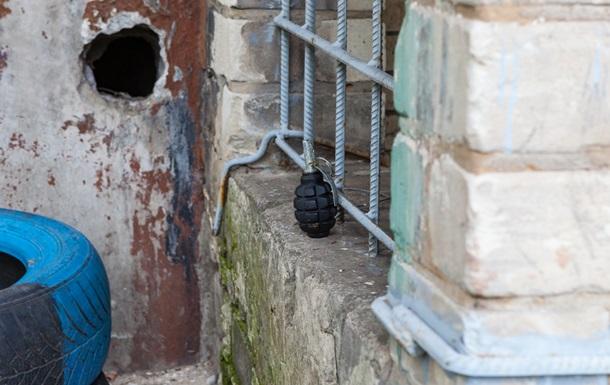 В Днепре нашли гранату возле детской площадки